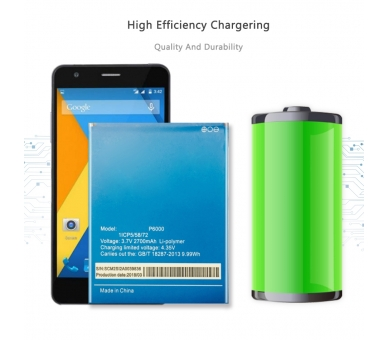Batterij voor ELEPHONE P6000 - originele capaciteit ARREGLATELO - 5