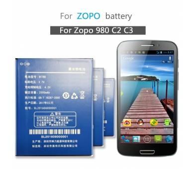 Bateria BaterÍa Original Interna para / for Zopo C2 ZP980 BT78S 2000 mah ARREGLATELO - 2