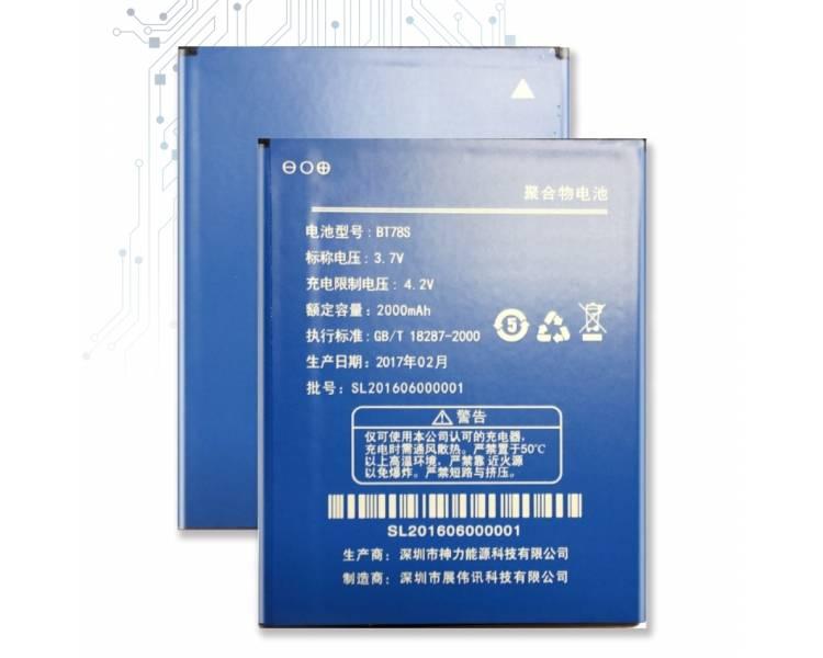 Bateria BaterÍa Original Interna para / for Zopo C2 ZP980 BT78S 2000 mah ARREGLATELO - 1