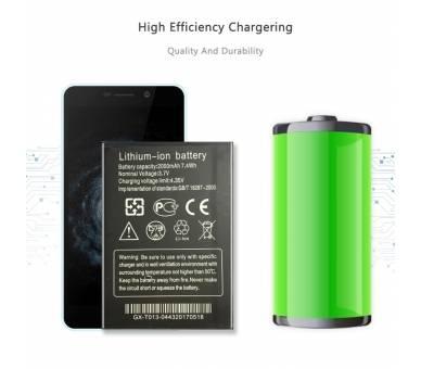 Batterij voor THL W200 W200S W200C, MPN Origineel THL-W200 ARREGLATELO - 3