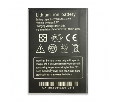 Battery For THL W200 , Part Number: THL-W200 ARREGLATELO - 5