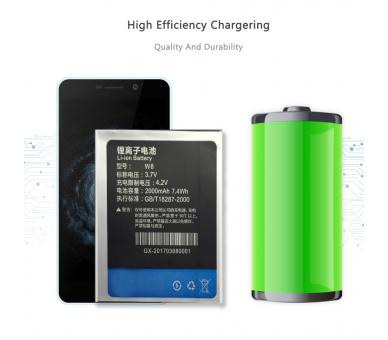 Originele batterij THL-W8 voor THL W8 voor W8 / W8S / W8 + / W8 Beyond / T3 ARREGLATELO - 5
