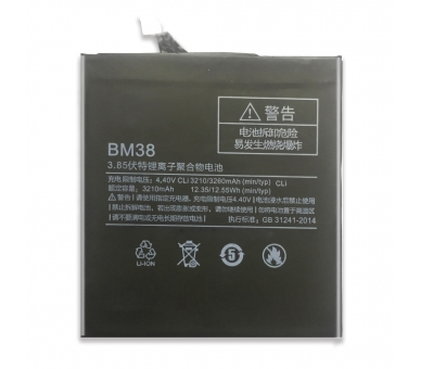 Batterij voor Xiaomi Mi4S Mi 4S, originele MPN: BM-38 BM38 BM 38 ARREGLATELO - 2