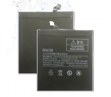 Batterij voor Xiaomi Mi4S Mi 4S, originele MPN: BM-38 BM38 BM 38 ARREGLATELO - 3