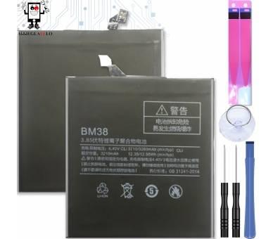Bateria do Xiaomi Mi4S Mi 4S, Oryginalny MPN: BM-38 BM38 BM 38 ARREGLATELO - 1