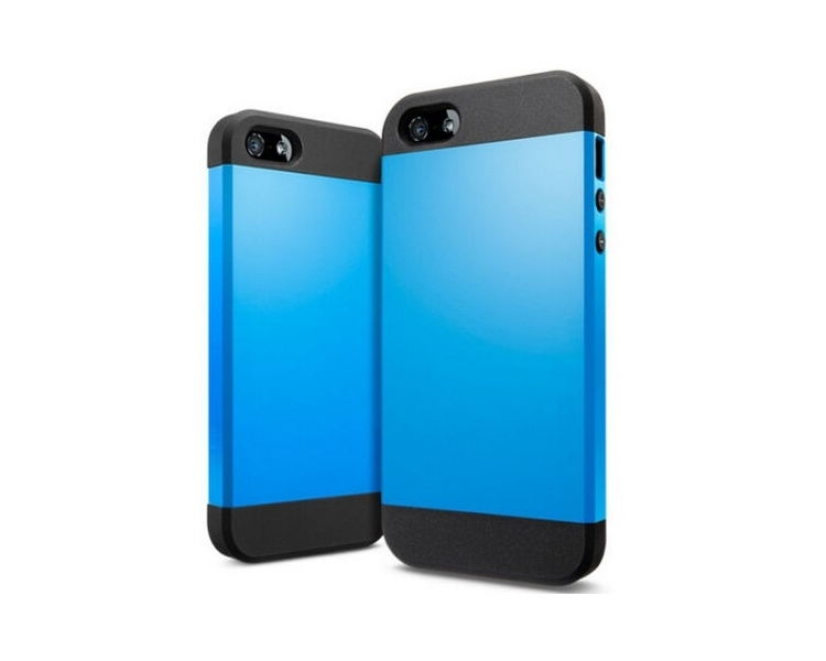 iPhone 4 & 4S Case - Slim Armor and Tempered Screen Protector
