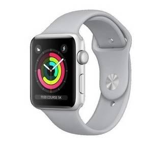 Apple Watch (Series 3) 42 mm - Aluminio Plateado - Correa Deportiva Nublar  - 1