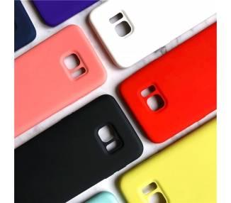 Funda Carcasa de Silicona Suave Líquida para Samsung Galaxy S7 Edge - Diseño Original