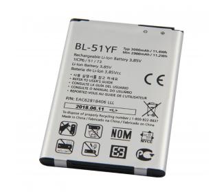 Batteria per LG G4 H815 H818 H819, G4 STYLUS H635, MPN originale: BL-51YF