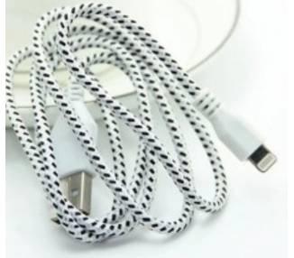 Cable Desenredado para iPhone 5 5s 5c X 10 11 XS XR Pro Max Varios Colores