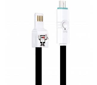 Cable OTG Premium Micro USB, Doble, para Moviles Android Samsung Huawei, etc ARREGLATELO - 2