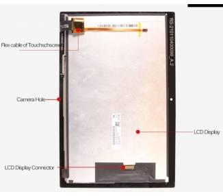 Pantalla Completa para Lenovo Tab 4 10 X304 Blanco ARREGLATELO - 4