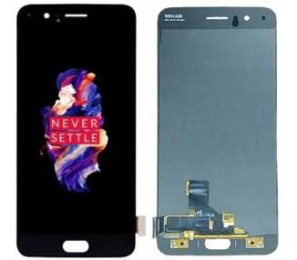 Pantalla Completa para OnePlus 5 Oled Negro ARREGLATELO - 2