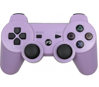 Cover protettiva in silicone per controller PlayStation 3 PS3 viola