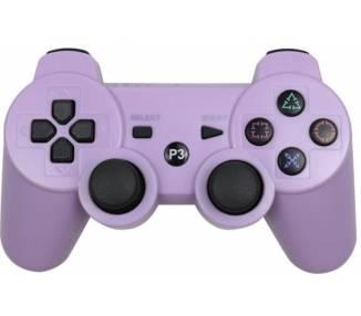Funda Protectora Silicona para Mando PlayStation 3 PS3 Morado