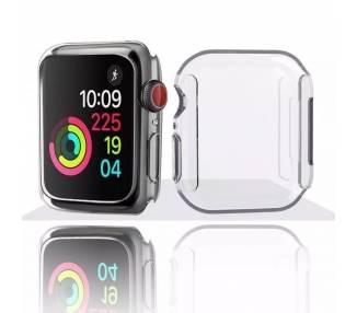 Funda Silicona Transparente para Reloj Apple Watch Series 2 y 3 42MM ARREGLATELO - 2