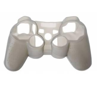 Funda Protectora Silicona para Mando PlayStation 3 PS3 Gris