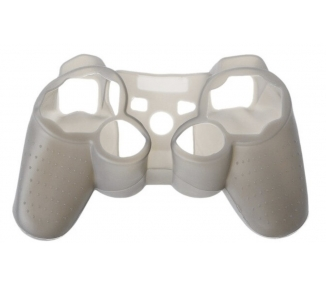 Silikonowy pokrowiec ochronny na kontroler PlayStation 3 PS3 szary