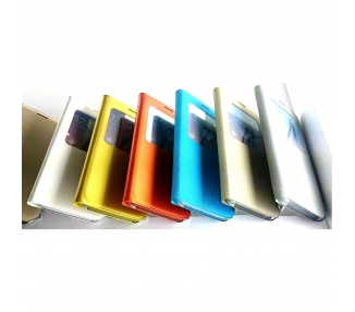 Flip View Hülle für Samsung Galaxy S6 Edge