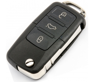 Llave VW Caddy Eos Golf Jetta Sirocco Tiguan Touran 3 Botones 1K0959753G