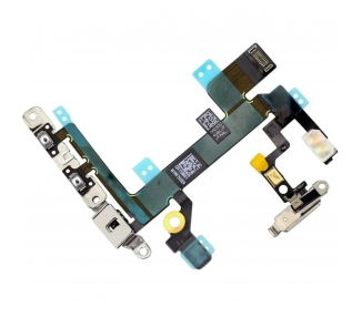 Flex Volumen para iPhone SE Con Chapita de metal ARREGLATELO - 1