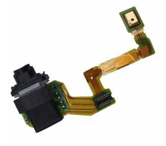 Flex Jack Audio Conector Auriculares Sony Xperia Z5 ARREGLATELO - 1