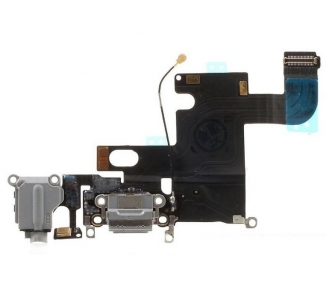 Flex de Carga Original Reacondicionado para Apple iPhone 6 Gris Apple - 1