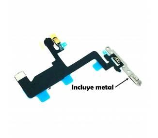 Flex Off On iPhone 6 Plus Met metalen plaat