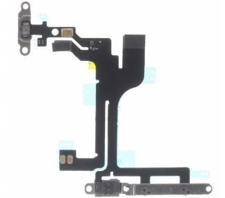 Volume Flex voor iPhone 5C Met metalen plaatje