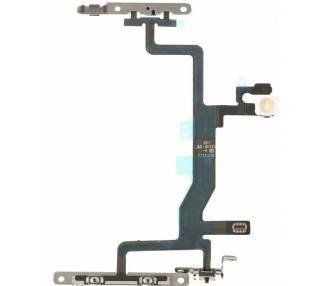 Volume Flex voor iPhone 6S Met metalen plaatje