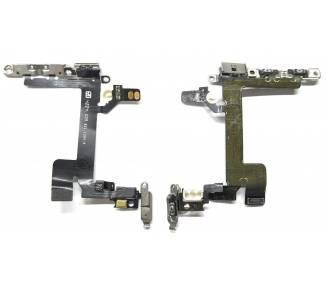 Volume Flex voor iPhone 5S Met metalen plaatje