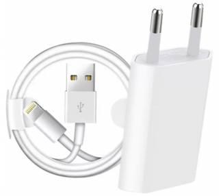 Cargador + cable lightning Apple  - 1