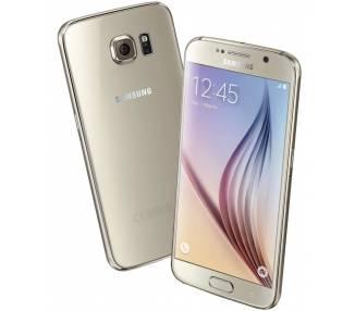Samsung Galaxy S6 64GB Dorado Libre, Reacondicionado  - 1