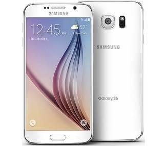 Samsung Galaxy S6 128Gb, Blanco, Libre  - 1