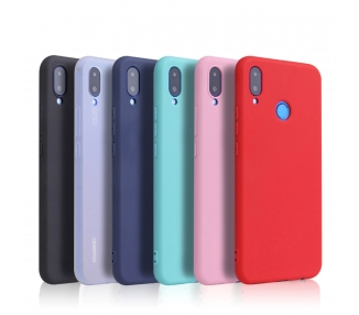 Zachte siliconen TPU Gel Liquid Case voor Huawei P20 Lite