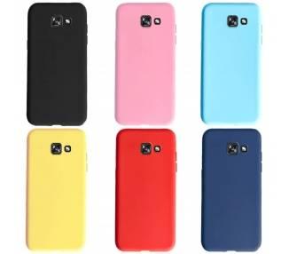 Funda Carcasa de Silicona Suave TPU Gel Liquido para Samsung Galaxy J4 Plus ARREGLATELO - 1