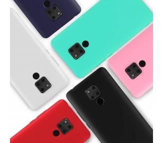 Zachte siliconen TPU Gel Liquid Case voor Huawei Mate 20