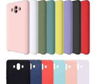 Funda Carcasa de Silicona Suave TPU Gel Liquido para Huawei Mate 10