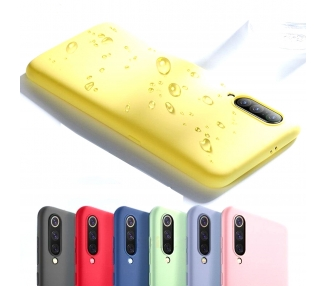 Funda Carcasa de Silicona Suave TPU Gel Liquido para Xiaomi Mi 9 ARREGLATELO - 1