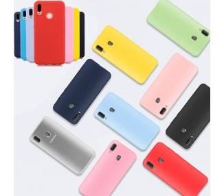 Funda Carcasa de Silicona Suave TPU Gel Liquido para Huawei P Smart 2019