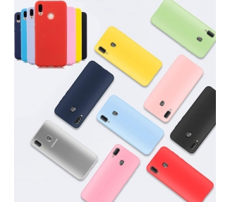 Soft Silicone TPU Gel Liquid Case für Huawei P Smart 2019