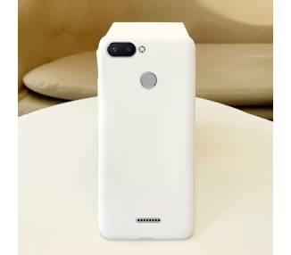Funda Carcasa de Silicona Suave TPU Gel Liquido para Xiaomi Redmi 6 ARREGLATELO - 18