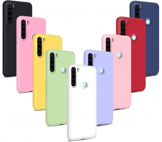 Funda Carcasa de Silicona Suave TPU Gel Liquido para Xiaomi Note 8 ARREGLATELO - 1