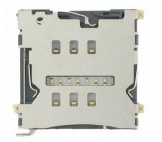 Lector Flex Tarjeta Sim Micro SD para LG F60  - 1