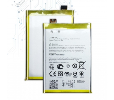 Battery For Asus Zenfone 2 , Part Number: C11P1424  - 2