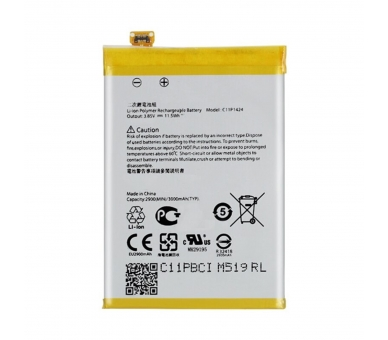 Bateria para Asus Zenfone 2 ZE550ML ZE551ML Z00AD Z008D, MPN Original C11P1424  - 6