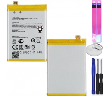 Battery For Asus Zenfone 2 , Part Number: C11P1424  - 1