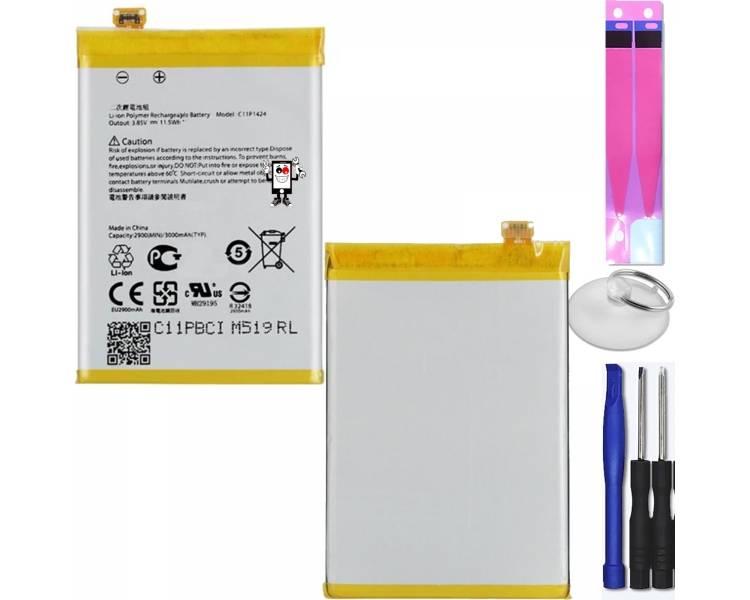 Batterij voor Asus Zenfone 2 ZE550ML ZE551ML Z00AD Z008D, Original MPN C11P1424  - 1