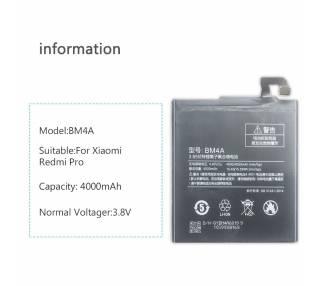 Bateria para Xiaomi Redmi PRO, MPN Original: BM4A Xiaomi - 4