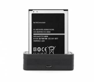 Cargador de bateria Externo para Movil Samsung Galaxy Note 2 N7100 ARREGLATELO - 2